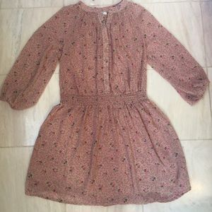 NWOT Delia's soft flowy pink floral dress